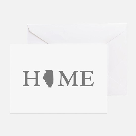 Illinois Home State Greeting Card