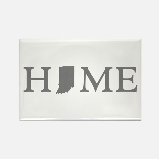 Indiana Home Rectangle Magnet