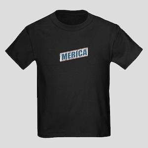 Vintage 'Merica Kids Dark T-Shirt