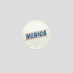 Vintage 'Merica Mini Button