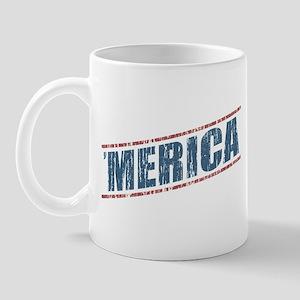 Vintage 'Merica Mug