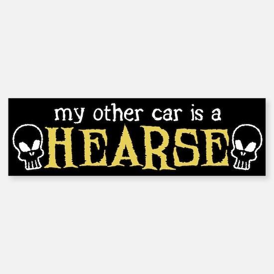 My Other Car is a Hearse Bumper Bumper Bumper Sticker