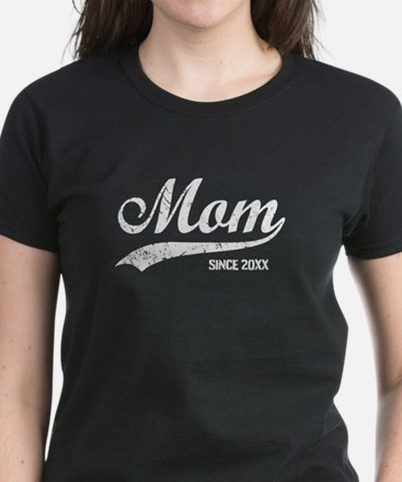 Personalize Mom Since Tee