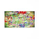 Spectrum of memories Aluminum License Plate