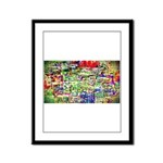 Spectrum of memories Framed Panel Print