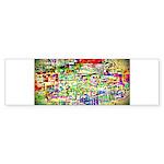 Spectrum of memories Bumper Sticker