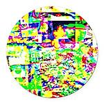Spectrum of memories Round Car Magnet