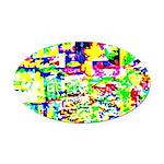 Spectrum of memories Oval Car Magnet