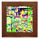 Spectrum of memories Framed Tile