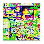 Spectrum of memories Tile Coaster