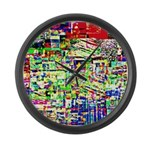 Spectrum of memories Large Wall Clock