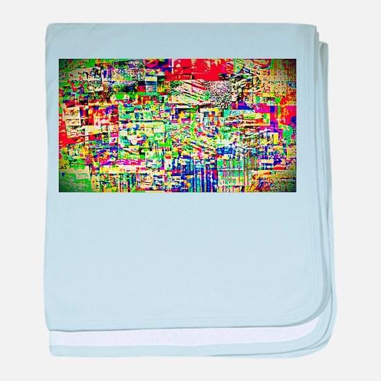 Spectrum of memories baby blanket