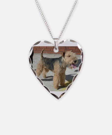 lakeland terrier full Necklace