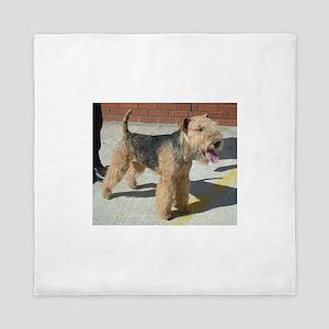 lakeland terrier full Queen Duvet