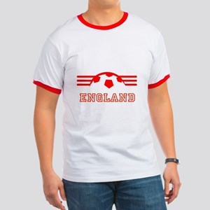 England Supporter Ringer T T-Shirt