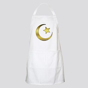 Gold Star and Crescent BBQ Apron