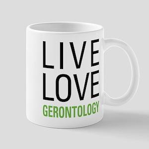 Live Love Gerontology Mug