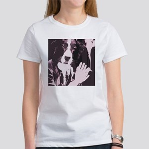 Smoking Dog Women's T-Shirt