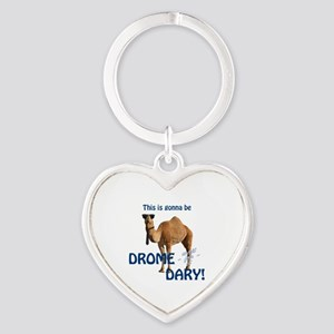 This is gonna be DROME...DARY Heart Keychain