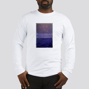 Shades of Purples rothko copy_ Long Sleeve T-Shirt
