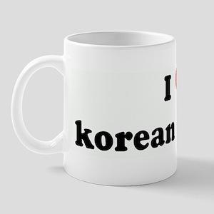 I Love korean dramas Mug