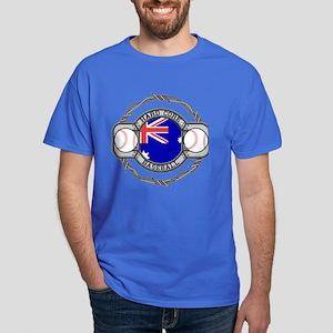 Australian Hand Core Baseball Dark T-Shirt