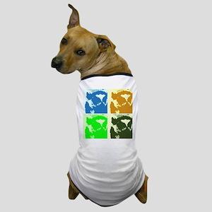 Lemur Pop Art Dog T-Shirt