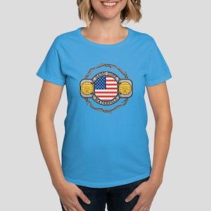 usa hard core water Women's Dark T-Shirt