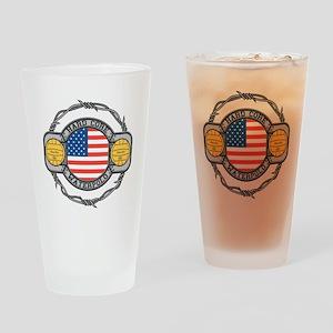 usa hard core water Drinking Glass
