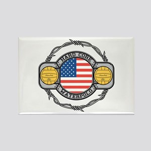 usa hard core water Rectangle Magnet
