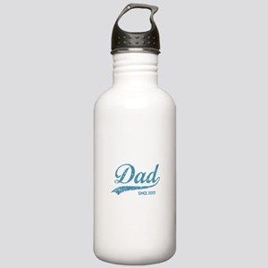 Personalize Dad Since Stainless Water Bottle 1.0L