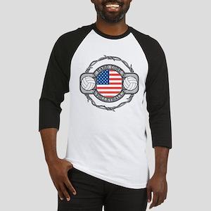 USA Hard Core Volleyball Baseball Jersey
