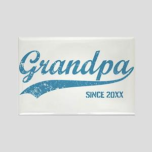 Personalize Grandpa Since Rectangle Magnet