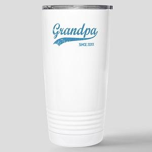 Personalize Grandpa Sin Stainless Steel Travel Mug