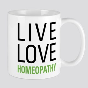 Live Love Homeopathy Mug