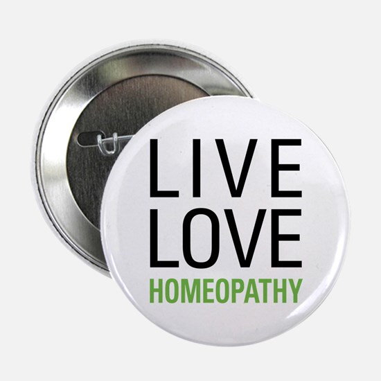 """Live Love Homeopathy 2.25"""" Button"""