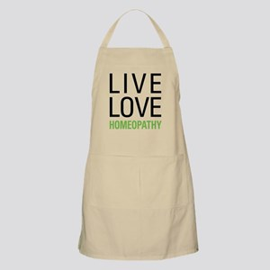 Live Love Homeopathy Apron