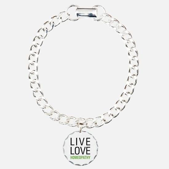 Live Love Homeopathy Bracelet