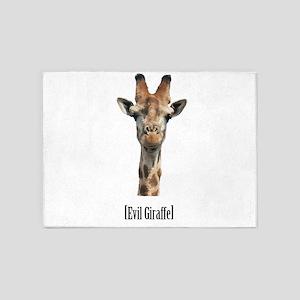 giraffe-pic 5'x7'Area Rug