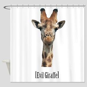 giraffe-pic Shower Curtain
