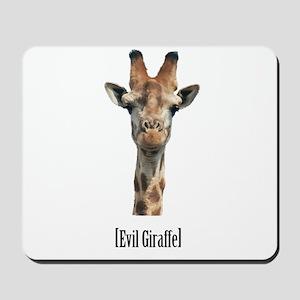 giraffe-pic Mousepad