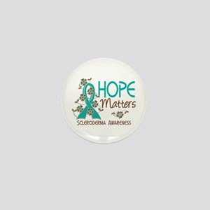 Scleroderma HopeMatters3 Mini Button
