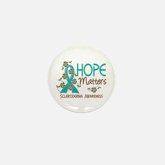 Scleroderma HopeMatters3 Mini Button