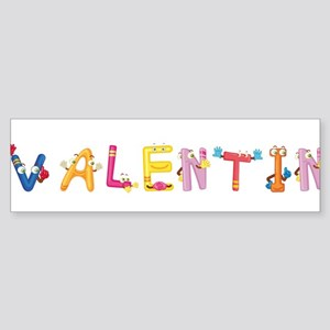Valentin Bumper Sticker