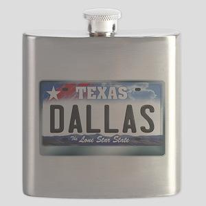 texas-licenseplate-dallas Flask