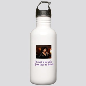 i'm not a drunk i just love to drink Water Bottle