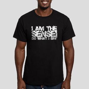 I Am The Sensei Men's Fitted T-Shirt (dark)