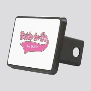 Bride-to-Be Custom Date Rectangular Hitch Cover