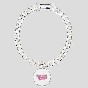Bride-to-Be Custom Date Charm Bracelet, One Charm