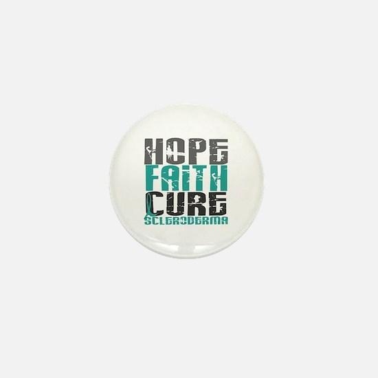 Scleroderma HopeFaithCure1 Mini Button